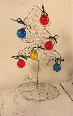 Wire Christmas tree