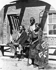 Navajos in Fort Defiance, ca. 1873 - 1874