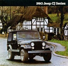 Sunday, June 15, 2014- 1980 Jeep Lineup Brochure