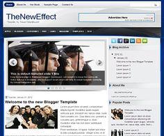TheNewEffect Blogger Template