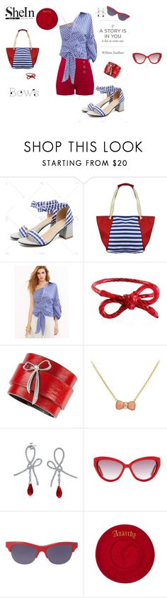 """""""bows story"""" by agnesmakoni ❤ liked on Polyvore featuring SCP, Van Cleef & Arpels, Bling Jewelry, Moschino and Kenzo"""