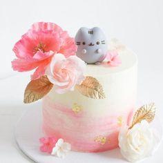 Toddler Birthday Themes, Baby Birthday, Birthday Cake, Birthday Ideas, Pusheen Cakes, Pusheen Birthday, Bus Cake, Pastel Cakes, Cat Party