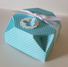 "Hello, everybody! Today Project is Octagonal Box, for gifts, and chocolates. Cardstock measures 11"" x 8 3/4"". Score the long side at..."