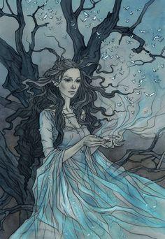 The Seelie Queen by liga-marta on deviantART