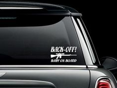 Ambitious Baby On Board Car Van Window Bumper Vinyl Sticker Decal Other Art Home Décor