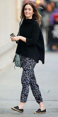 Emily Blunt street style; celebrity Instagram photos : People.com