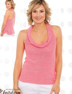 Women's tank crochet pattern free