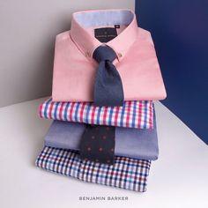 Benjamin Barker Shirts (Slim Fit Range)