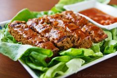 Barbecued Seitan with Wild Plum Sauce - Make your own plum sauce from fresh fruit.