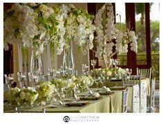 Florist Extraordinaire- Karen Tran - The Enchanted Home Flower Centerpieces, Table Centerpieces, Centrepieces, Karen Tran, Wedding Venue Decorations, Floral Decorations, Wedding Receptions, Reception Ideas, Wedding Flower Design