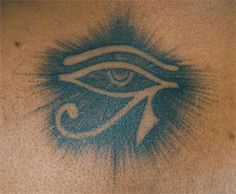 Eye of Ra tattoo I want this on my elbow surrounded by laurels