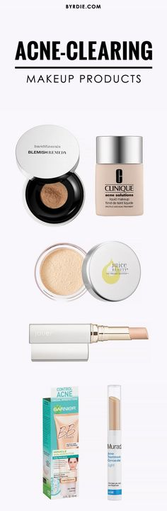 Makeup products that will cover and clear your acne