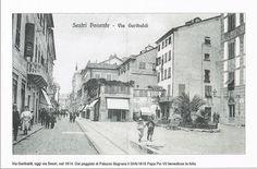 Genova Sestri Ponente 1914 Via Garibaldi (oggi via Sestri)
