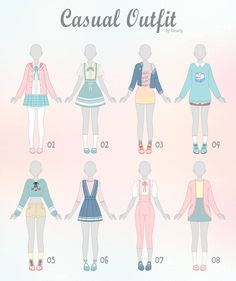 Outfit Ideas Drawing Picture drawing on creativity fashion design sketches casual art Outfit Ideas Drawing. Here is Outfit Ideas Drawing Picture for you. Outfit Ideas Drawing pin night shade on character outfit ideas drawings. Outfit Id. Fashion Design Drawings, Fashion Sketches, Drawing Fashion, Vestidos Anime, Kleidung Design, Casual Art, Mode Kawaii, Drawing Anime Clothes, Drawings Of Clothes