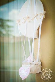 ✿ Fiori di Cotone ✿: Annunciare la nascita con...una mongolfiera!!!