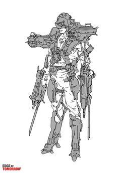 _Edge Of Tomorrow - concept art - JonMcCoyArt.com
