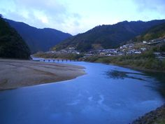 River Shimanto Kouchi in Japan Sea Of Japan, Island Nations, North Korea, Pacific Ocean, Asia, Scene, Japanese, River