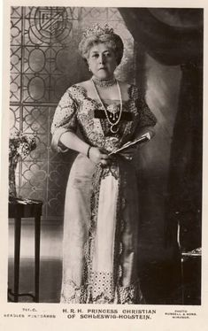 Princess Christian of Schleswig-Holstein, nee Princess Helena of Great Britain