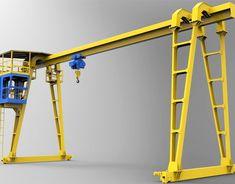 25 Ton Gantry Crane - Reliable Gantry Crane Manufacturer in China Crane Lift, Gantry Crane, Custom Metal, Architecture Design, Ideas, Patio Design, Architecture Layout, Thoughts, Architecture