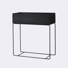 Ferm living  Plant Box - Black W 60 x H 65 x D 25