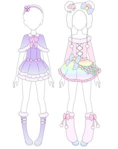 MRA: Fairy Kei Winter Collection by VanillaChama.deviantart.com on @DeviantArt