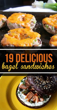 19 Bagel Sandwiches You'll Want To Put A Ring On | Come to Bagels and Bites Cafe in Brighton, MI for all of your bagel and coffee needs! Feel free to call (810) 220-2333 or visit our website www.bagelsandbites.com for more information!