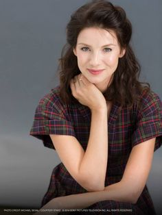 This is Caitriona Balfe, who will play Claire Elizabeth Beauchamp Randall Fraser in he OUTLANDER TV series on STARZ!