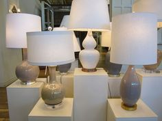 Mottega Lamps  www.boxwoodhouston.com