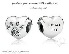 Pandora I Love My Pet charm from the Pre-Autumn 2015 collection!