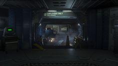 ArtStation - Alien Isolation - Lighting, Ben Hutchings
