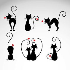 animal clip art cartoon clipart for baby room cat by vector76