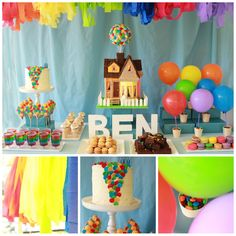 "Blissfully Sweet: ""Up"" themed Birthday"