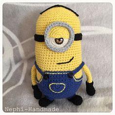 Minion Stuard #crochet #häkeln