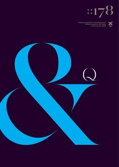 Aron Jancso – Fadeaway Typeface: &Q