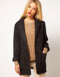 ShopStyle: Mango Kate Tweed Car Coat
