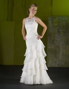 beach wedding dresses picture