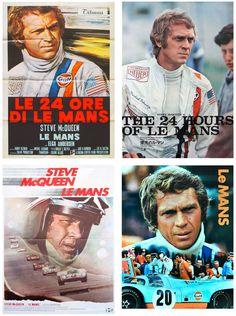 Steve McQueen – Le Mans – Movie Posters