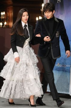 Jeon Ji Hyun and Lee Min Ho Attend Press Conference for Legend of the Blue Sea Premiering Wednesday   A Koala's Playground