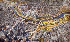 SOM-philadelphia-30th-street-station-masterplan-transport-network-designboom-02