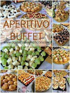 economic ideas for aperitifs or buffet by jodie- - Appetizer Buffet, Appetizer Recipes, Appetizers, Antipasto, Catering Food Displays, Italian Buffet, Brunch, Party Finger Foods, Party Buffet
