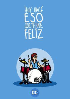 #DiaDe La Felicidad. DRUMS del equipo obviamente haciendo merito al día- #20demarzofelicidad #tucuman