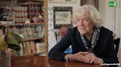 Il pensiero che la scrittrice e poetessa Carla Vasio rivolge alle giovani donne di oggi. #LeRagazzeDel46 #Rai3