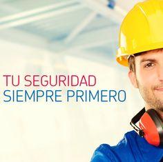 #Pinterest Una regla importante en seguridad industrial es utilizar en todo momento los implementos y equipo de protección personal en el área de trabajo.