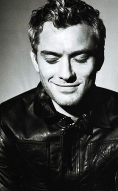 jude law... That goofy grin. :)