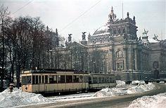 Berliner Reichstag im Winter 1940