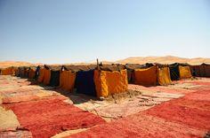 Espace sommeil        #raid #raidfeminin #rallye #4x4 #bivouac #desert #maroc…