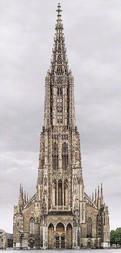 Завораживающая готическая архитектура