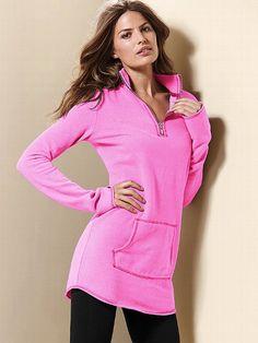 Fleece Zip Tunic #VictoriasSecret http://www.victoriassecret.com/clothing/hoodies-and-sweatshirts/fleece-zip-tunic?ProductID=79823=OLS?cm_mmc=pinterest-_-product-_-x-_-x