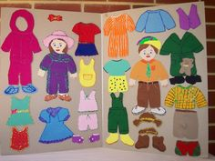 This is a neat idea to show the types of clothing to wear in certain types of weather conditions. Since weather affects our choice in clothing so greatly, this is a great way to teach the students about what is appropriate vs. what is not appropriate. I would have my students create paper dolls and outfits for every season. Then, I would have them dress their doll for a specified season.