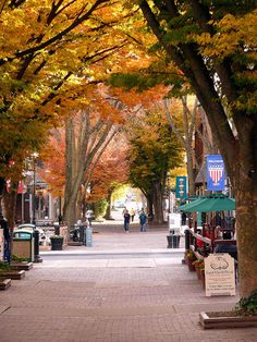 Fall in Old Town Winchester, VA